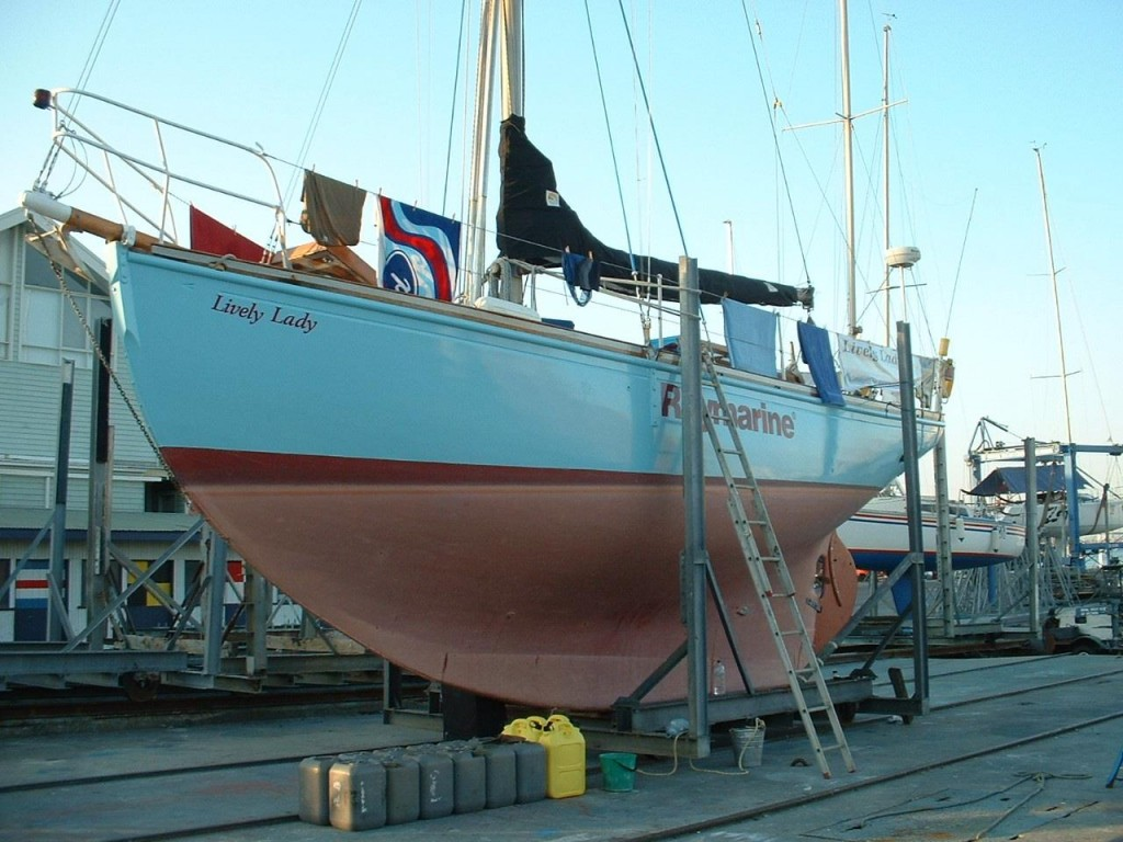 Lively Lady looking good after her refurb in Melbourne Jan 2008